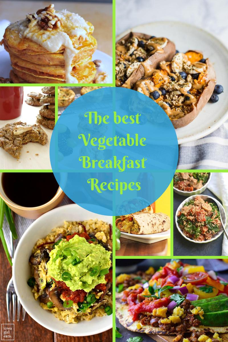vegetable breakfast recipe photo