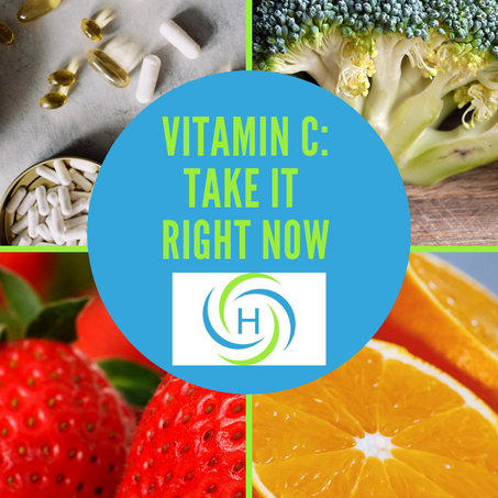 Vitamin C: The Powerful Vitamin You Need To Take Right Now