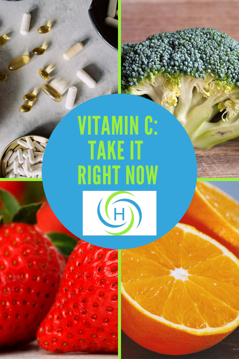 vitamin c: why take it right now