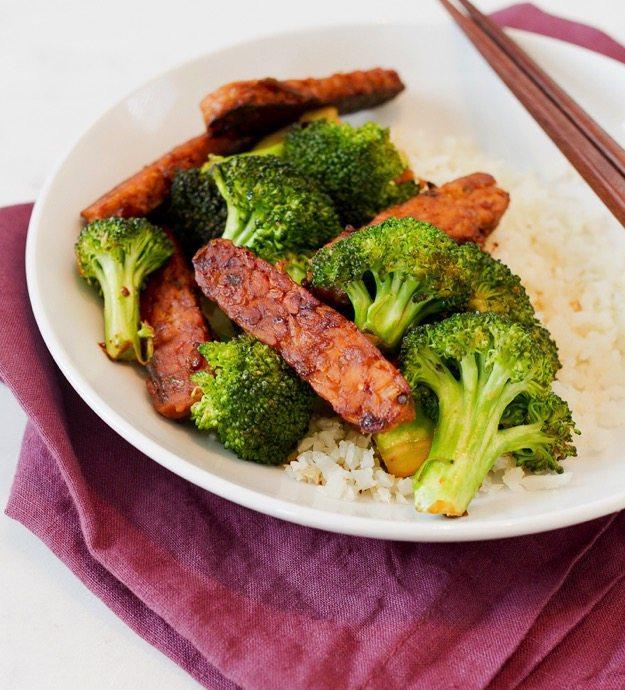 Tempeh-Broccoli