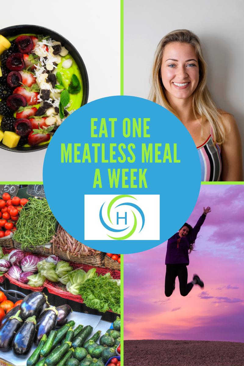 eat one meatless meal a week