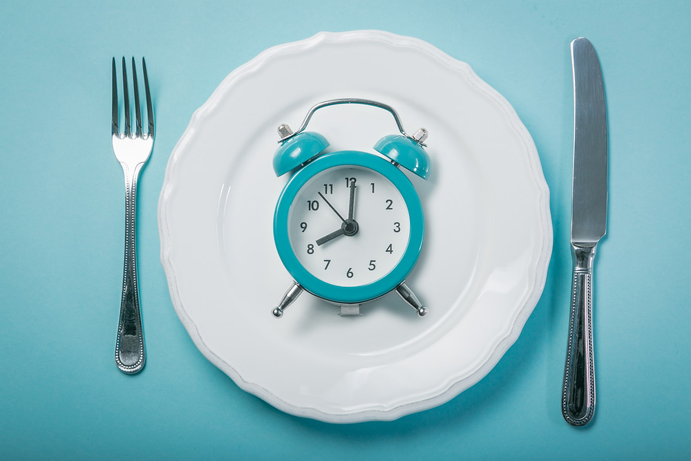 waiting one hour after your first meal will help your body adapt to eating food again