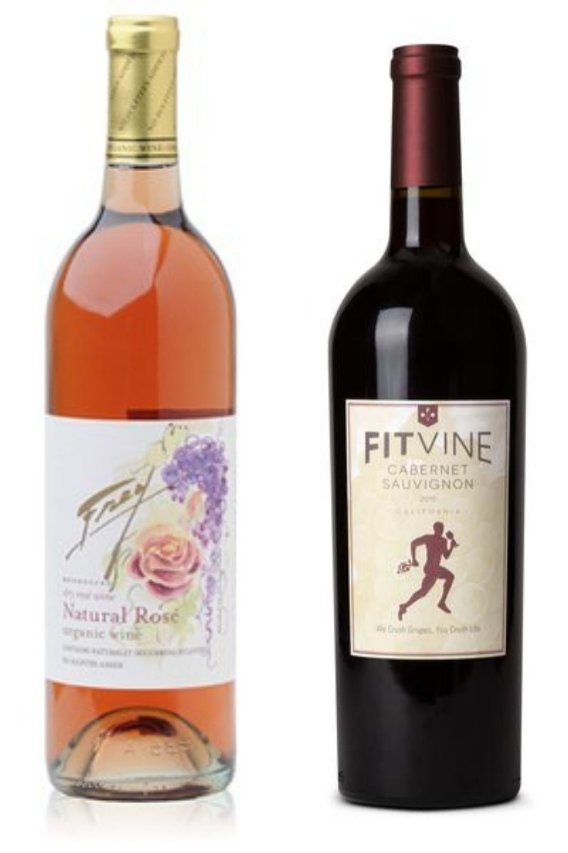 organic wine Frey and Fit Vine reduced calorie wine