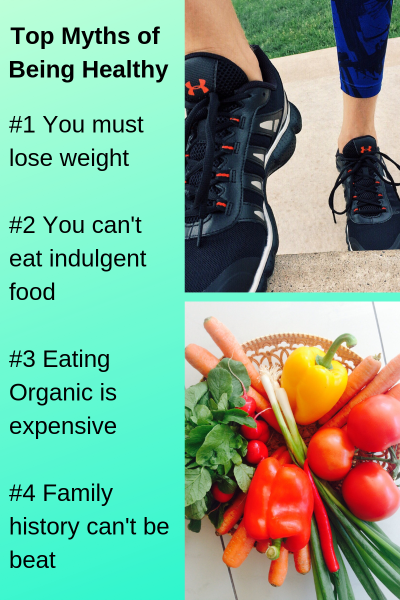 Top Myths of being healthy
