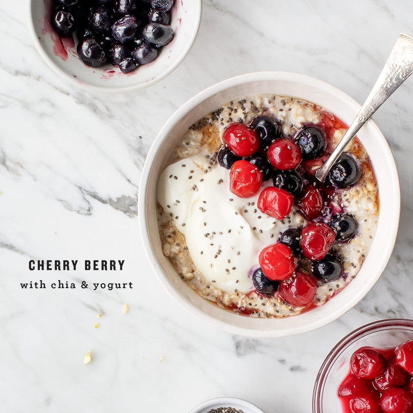 cherry berry oats