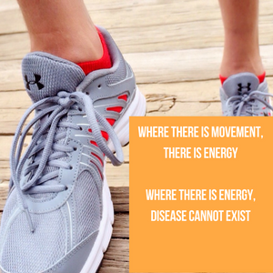 exercise results in movement which can prevent disease