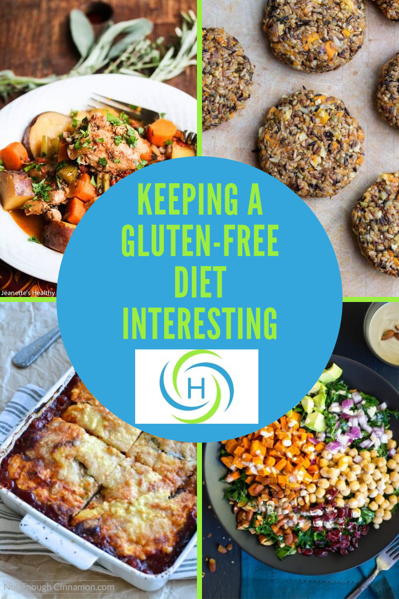 keeping a gluten-free diet interesting