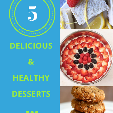 5 Wonderfully Simple And Easy To Make  Desserts