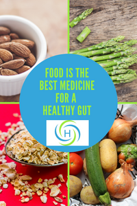 food is the best medicine for a healthy gut