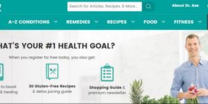 dr axe website