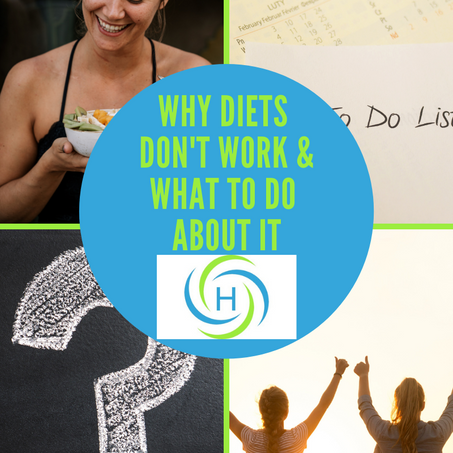 Diets Don't Work! The Reason Why Is Simple