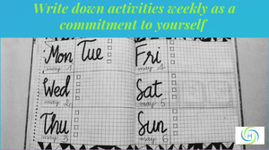 calendar to plan exercise weekly