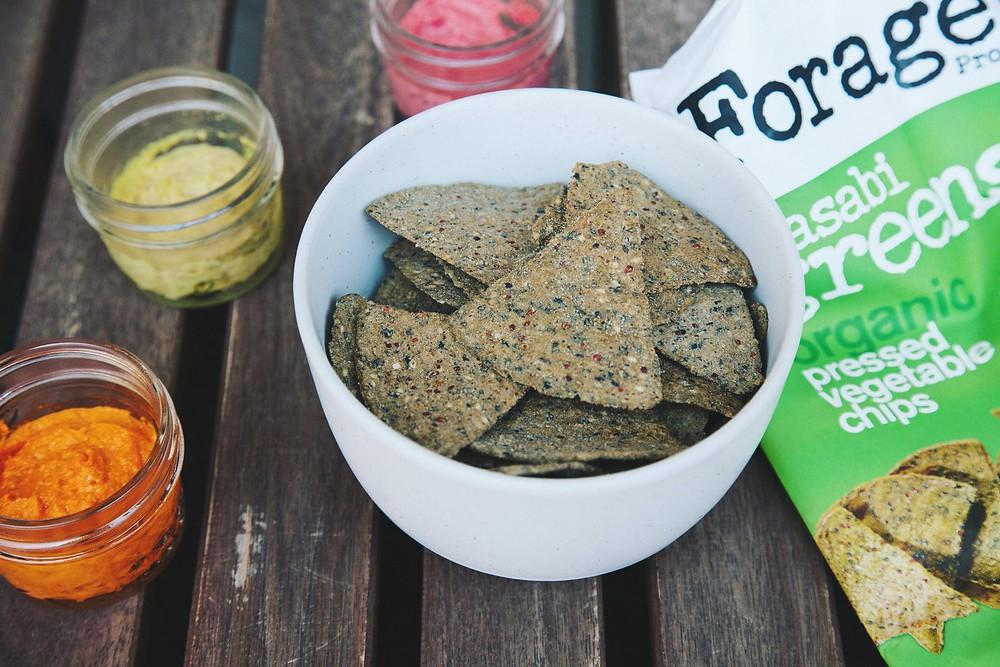 forage snacks