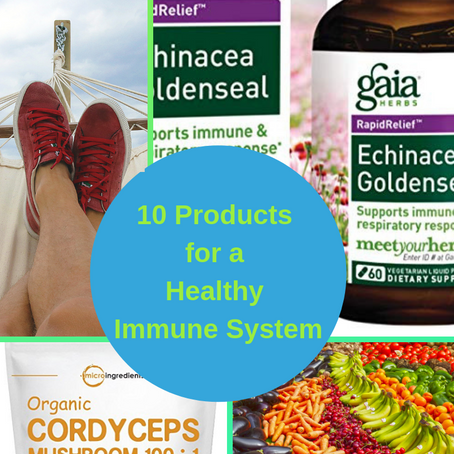 10 Of The Best Products For A Healthy Immune System