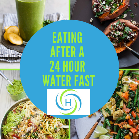 How To Easily Eat After Completing A 24 Hour Water Fast