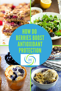 berries boost antioxidant protection by providing key vitamins and minerals