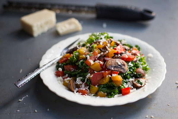balsamic kale salad