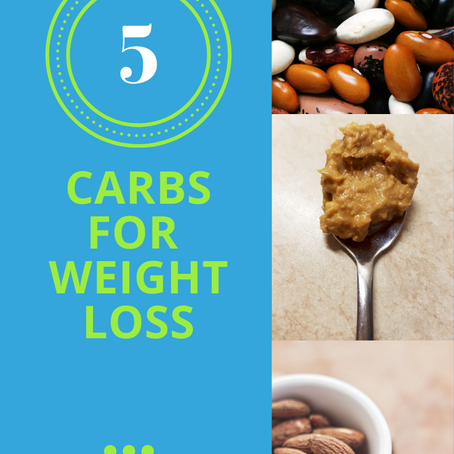 5 Good Carbs For Easy Weight Loss