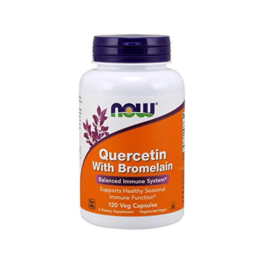 NOW brand quercetin supplement