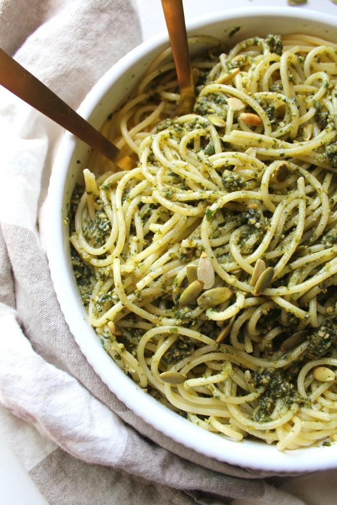vegan-pumpkin-seed-pesto-pasta-3