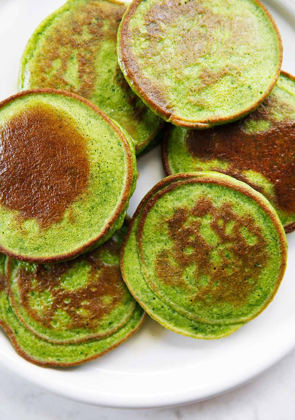 healthy kid friendly spinach cakes