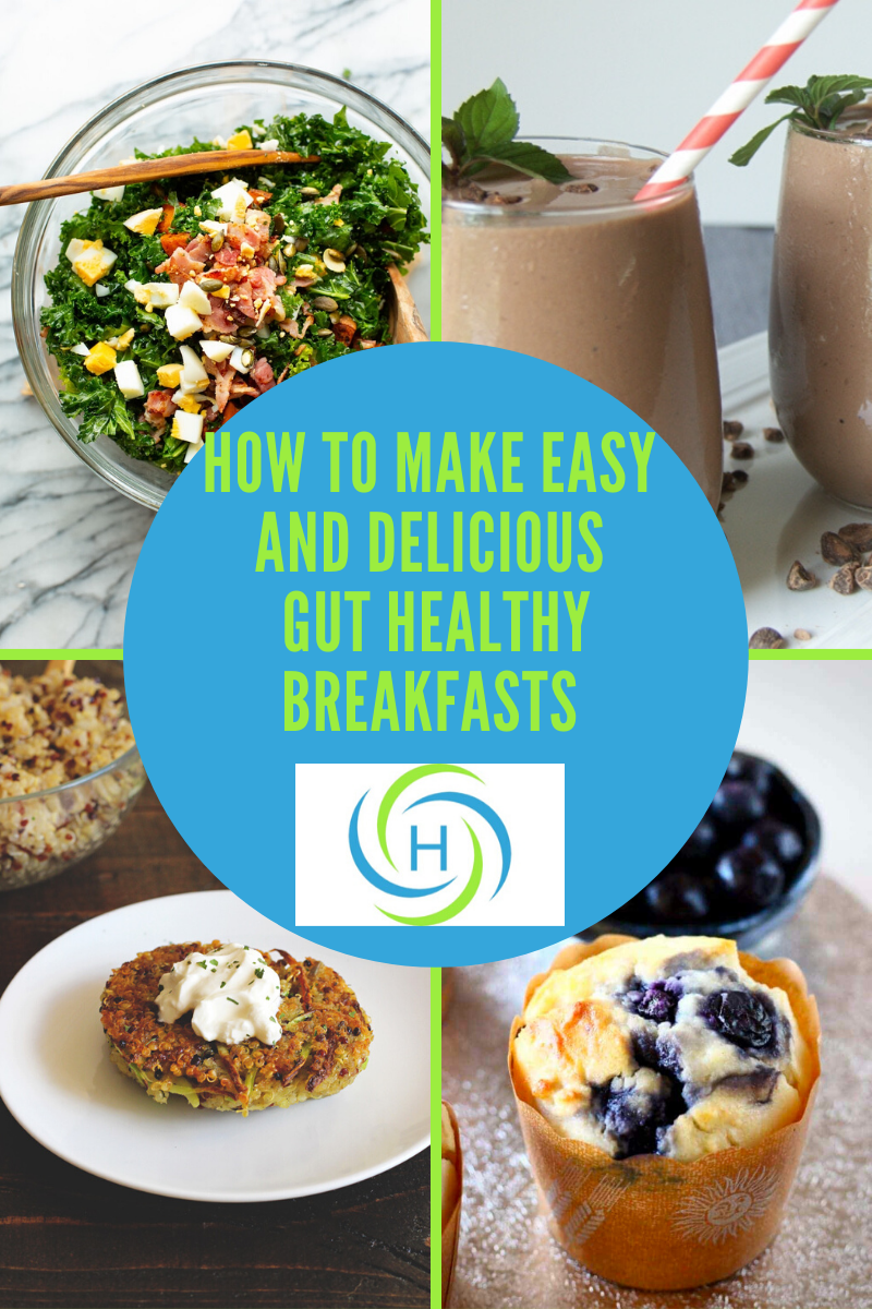 delicious and gut healthy breakfasts