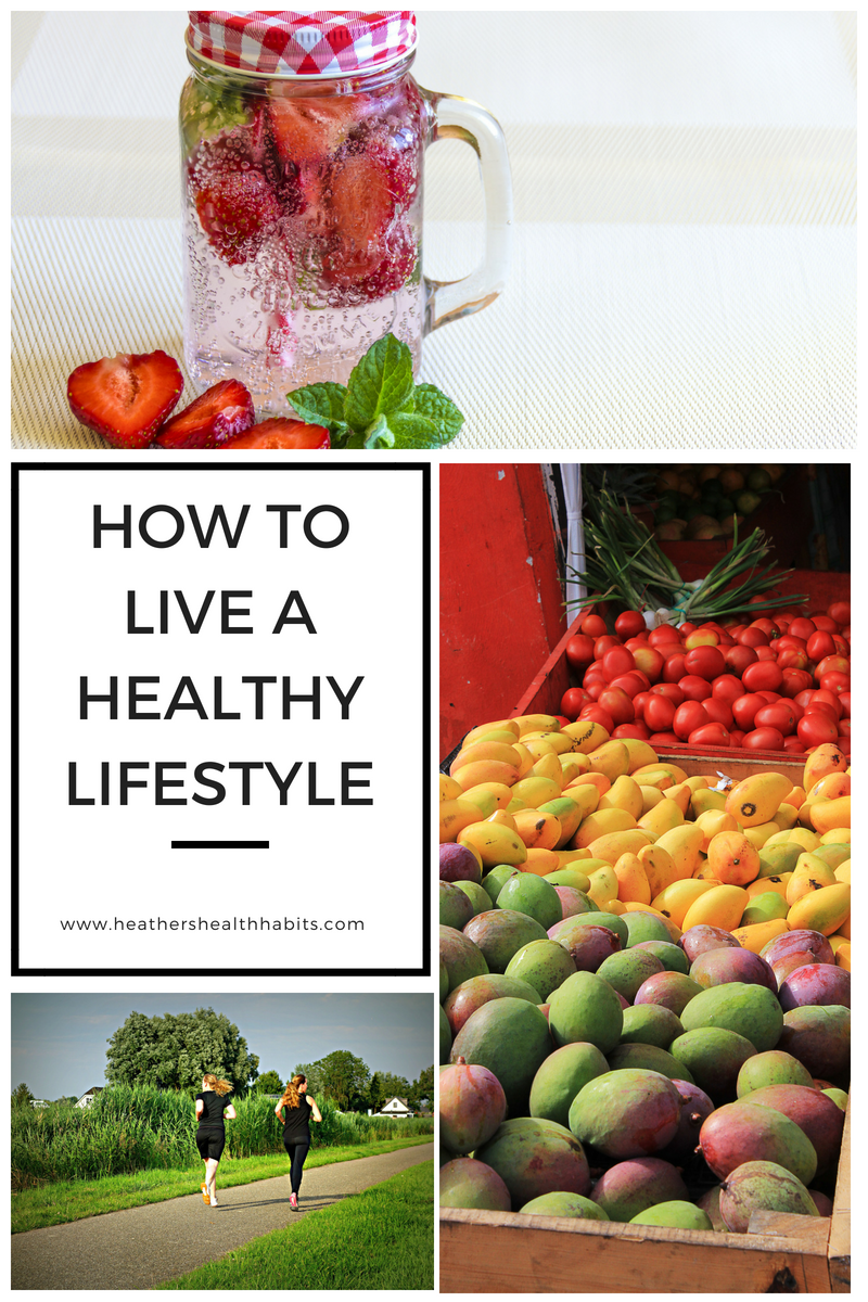how to live a healthy lifestyle with water exercise and fruit