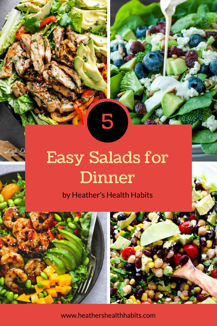 salad recipes to make for dinner