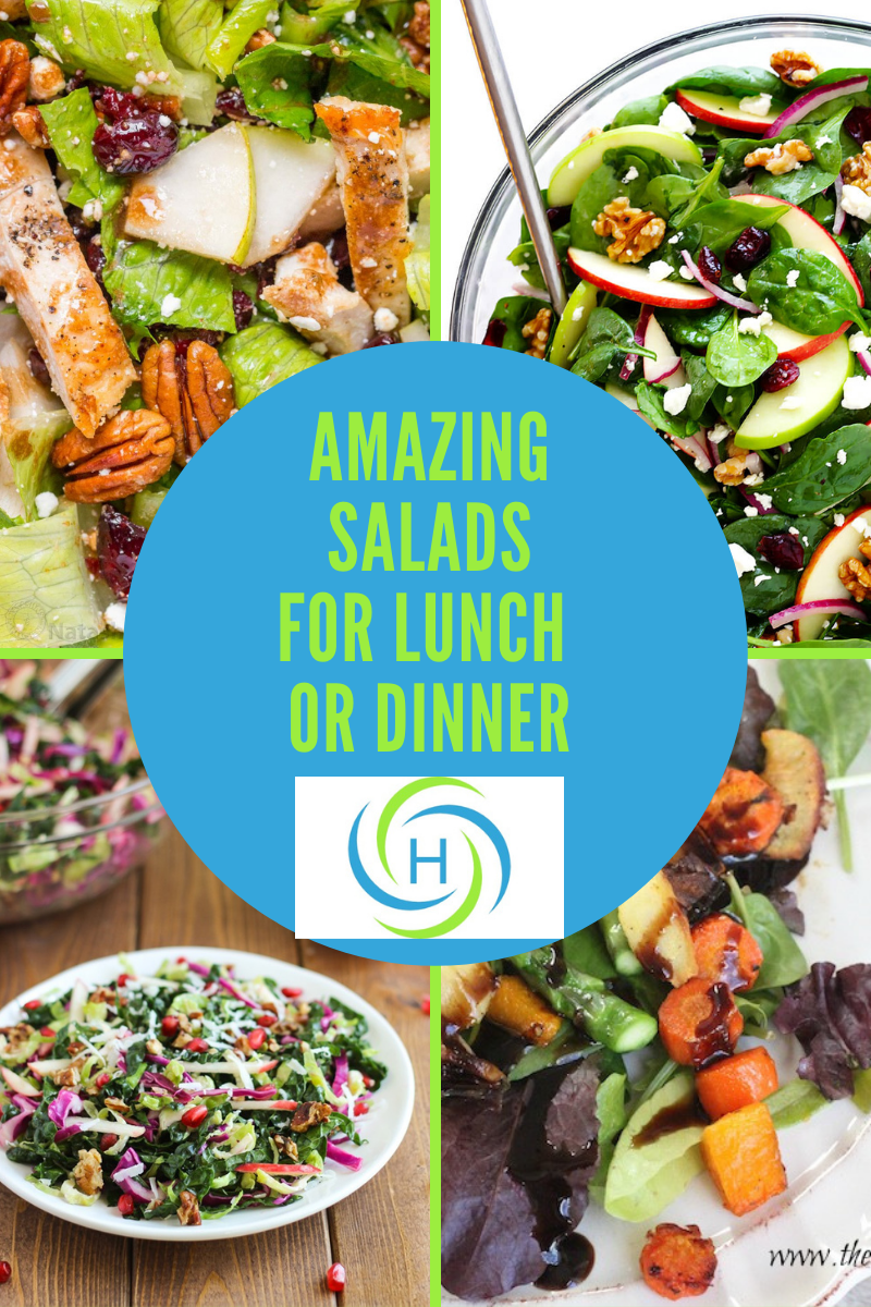 images of salads for lunch or dinner