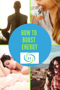 how to boost energy by drinking water, meditating and laughing sleeping and