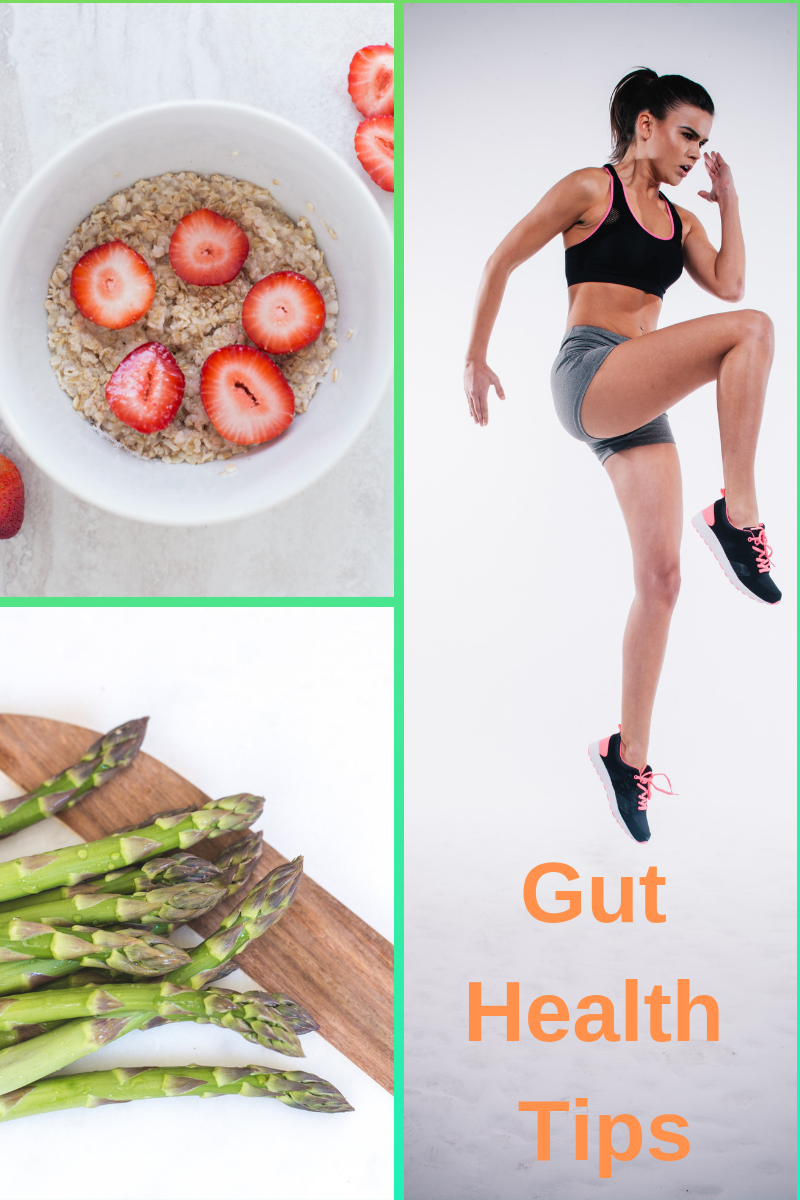 gut health tips eat fiber exercise and eat green foods