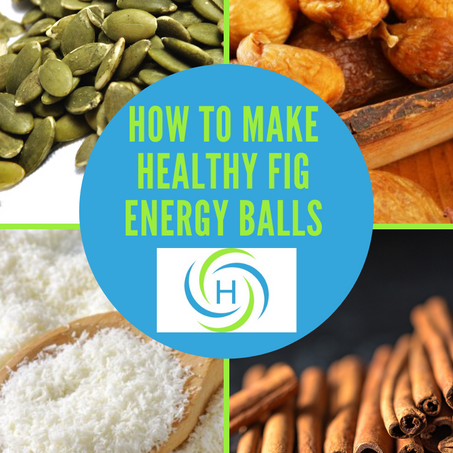 How To Make Easy, Healthy Fig Energy Balls