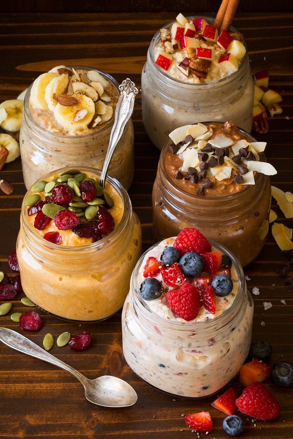 5 overnight oats recipes that are fast and easy