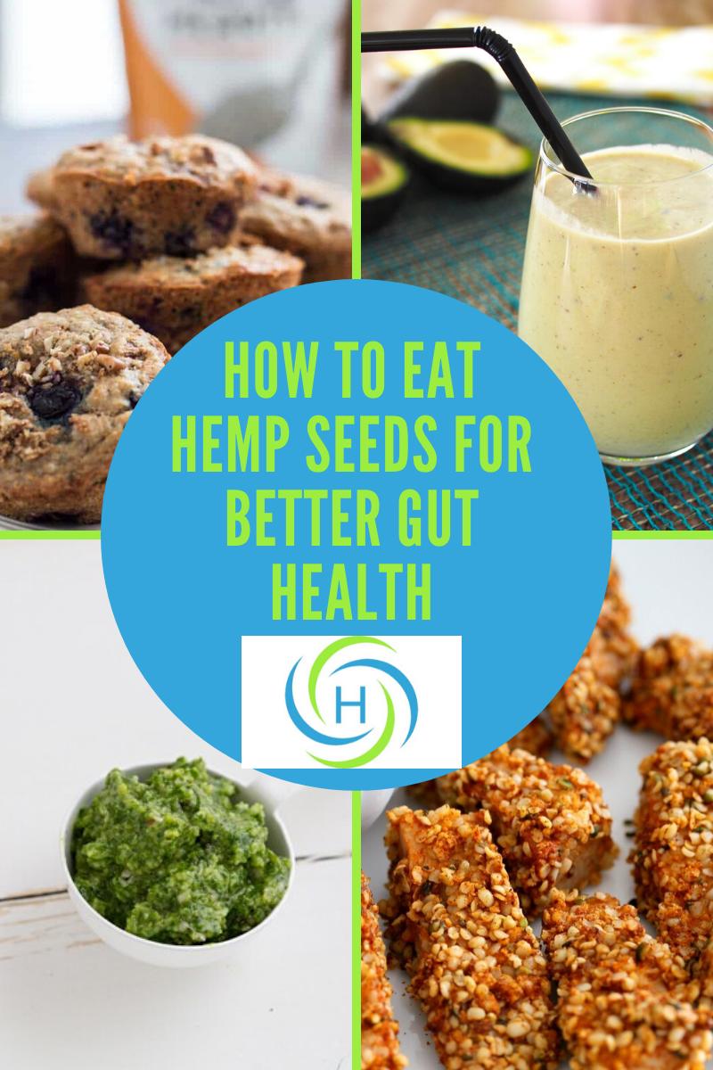 how to eat hemp seeds for better gut health