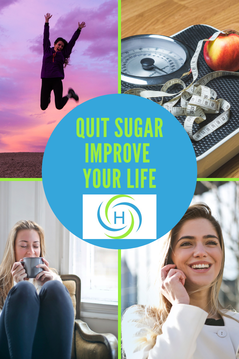 quite sugar and improve your life