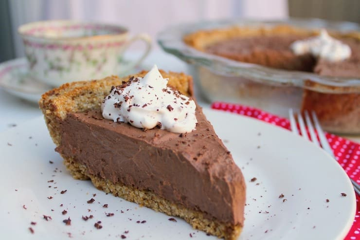 vegan chocolate pie paleo