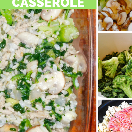 Recipe: Turkey Vegetable Casserole