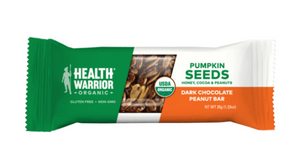 health warrior organic protein bar