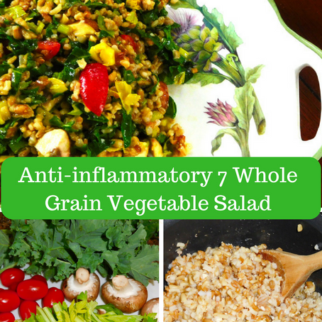 How to make the easiest anti-inflammatory salad for lunch