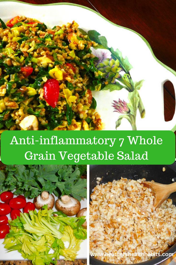 7 whole grain salad