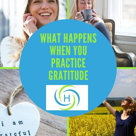 Here Is What Happens When You Practice Gratitude