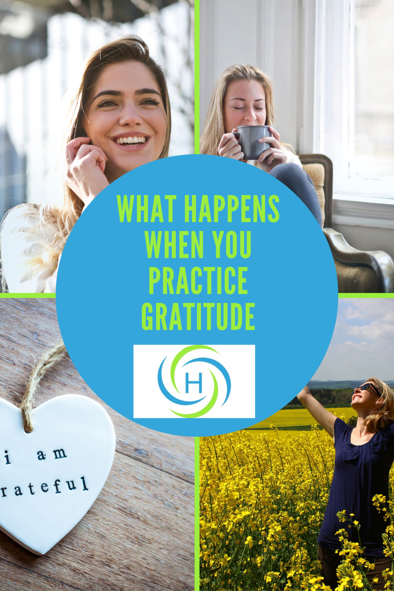 what happens when you practice gratitude
