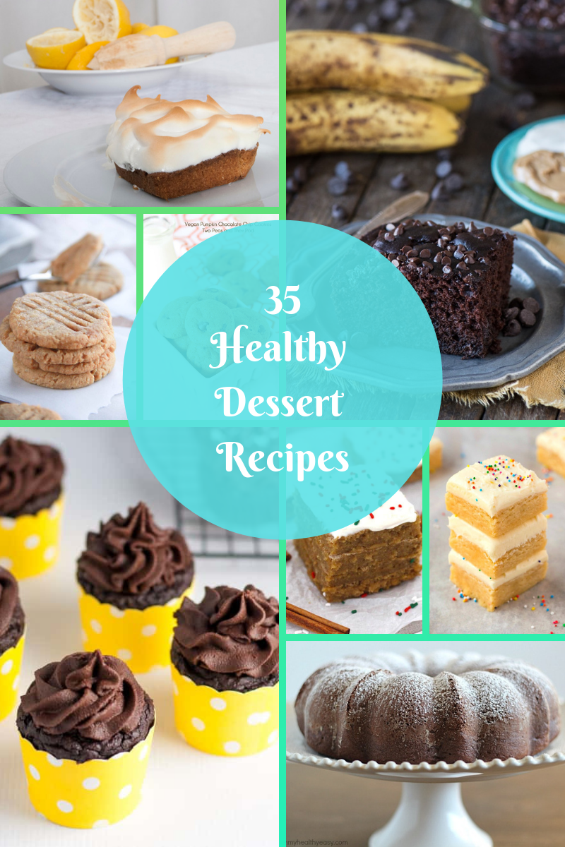 35 healthy dessert recipes