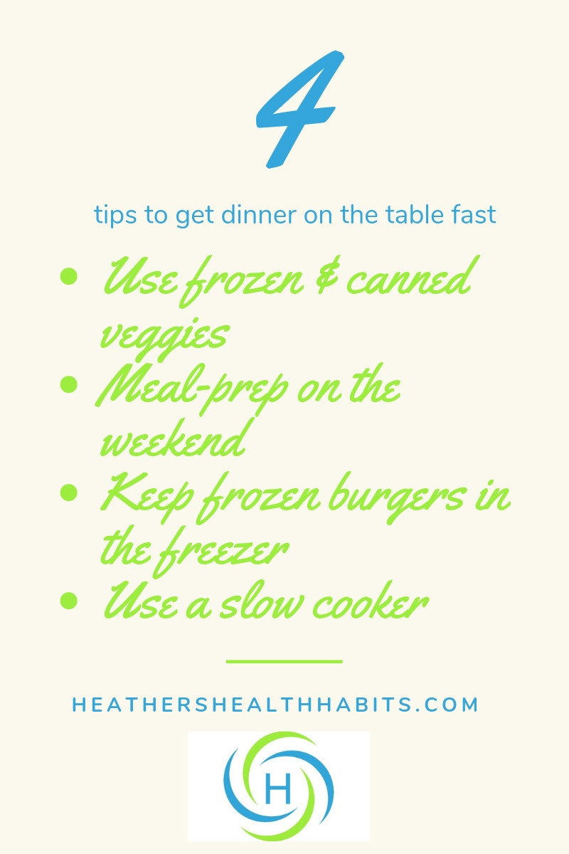 4 ways to get dinner on the table fast