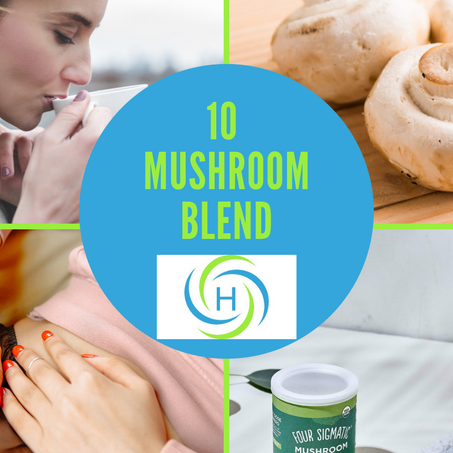Products I love: Four Sigmatic 10 Mushroom Blend