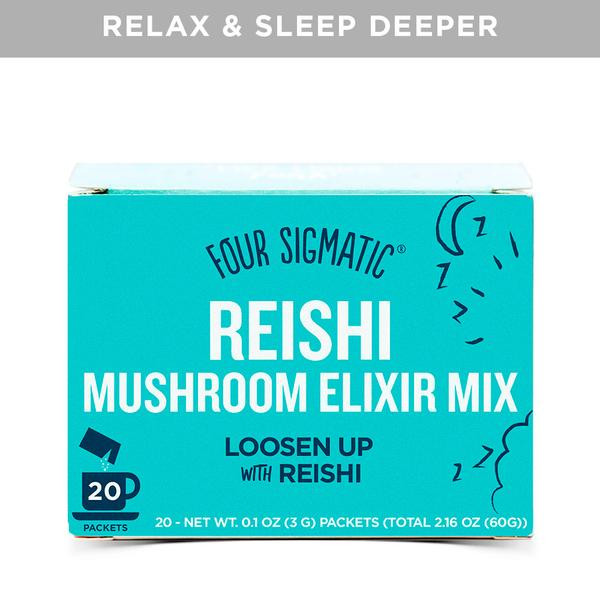 reishi mushroom drink mix to calm anxiety