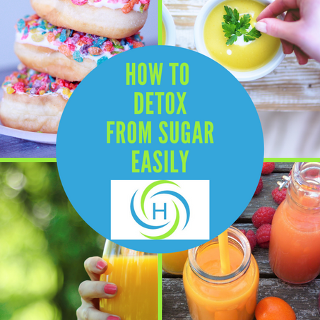 How To Detox From Sugar Easily