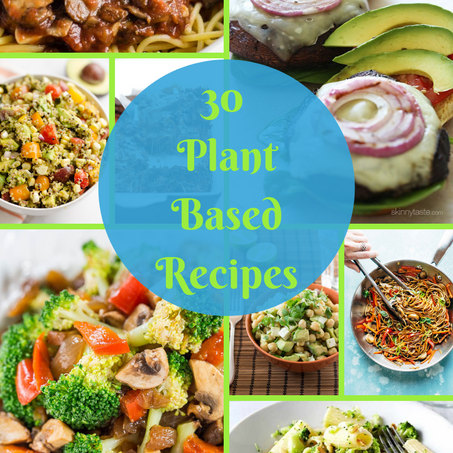 30 of the Greatest, Affordable and Easy Plant-Based Recipes