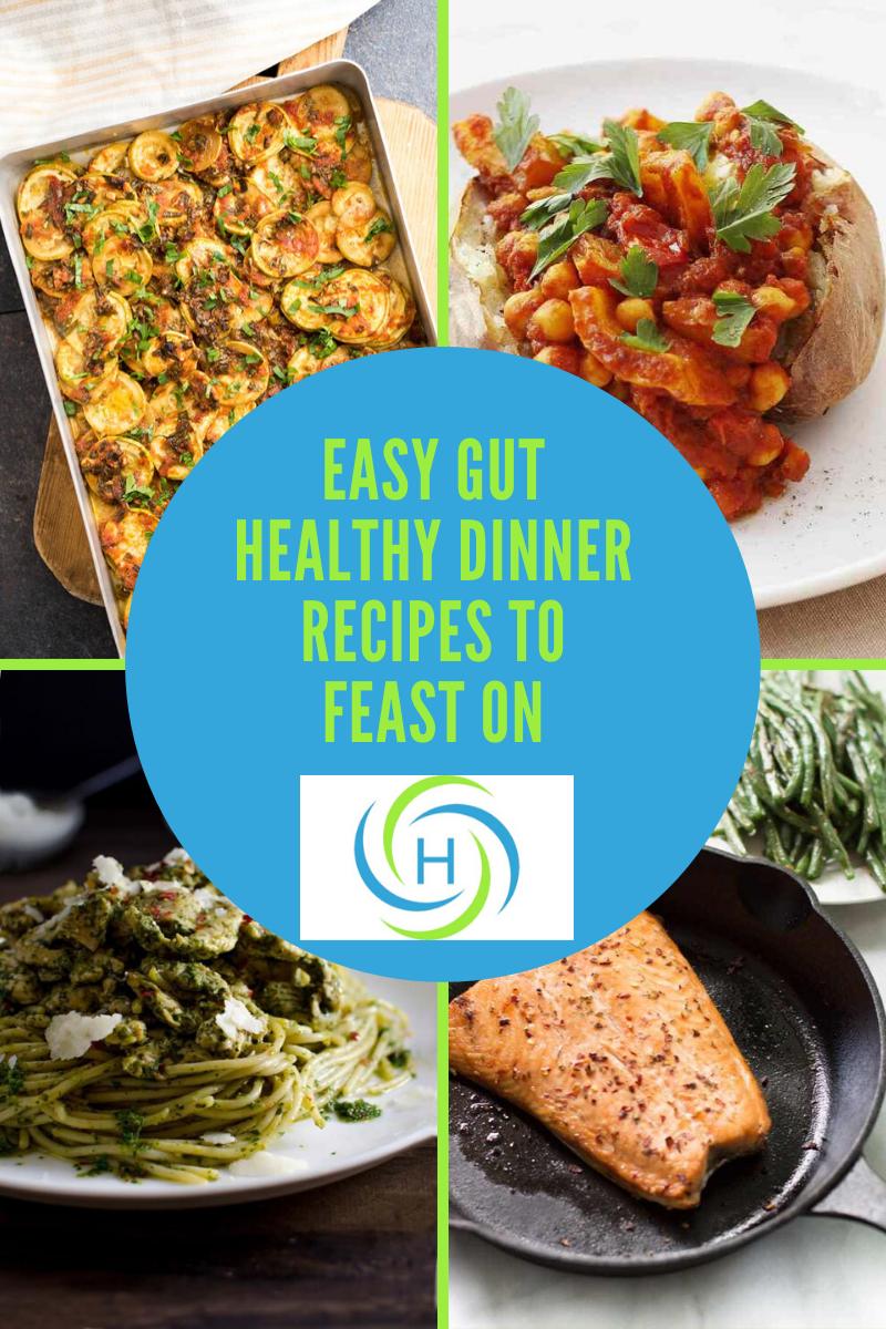 gut healthy recipes