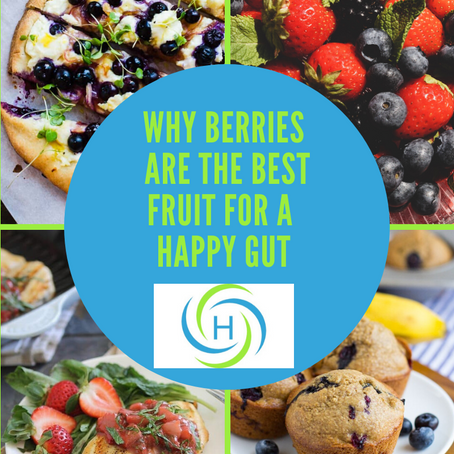 Why Berries Are The Best Fruit To Eat For A Happy Gut